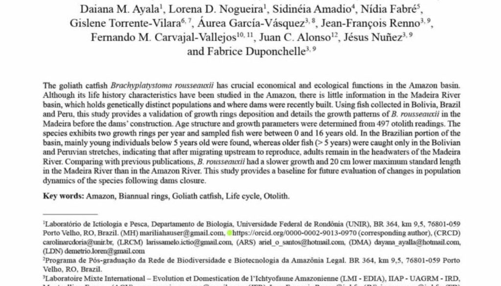 Hauser_2018_Age and growth dorado_NeotropicalIchthyology_tapa